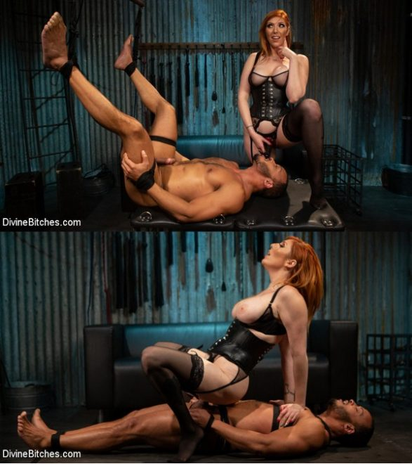 DIVINE BITCHES: February 11, 2020 – Lauren Phillips, Dillon Diaz/Punishing the Good Boy: Kinky Couple Explore FemDom Punishment & Pain