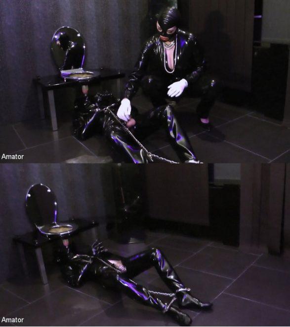 AMATOR: February 20, 2020 – Lady Letizia, Slave/Lady Letizia: Toilette