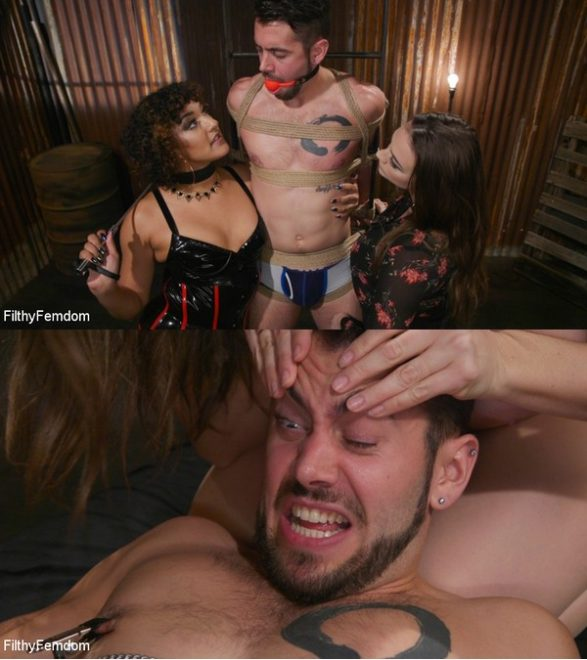 FILTHY FEMDOM: February 21, 2020 – Chanel Preston, Daisy Ducati, Dante Colle/Shakedown: Chanel Preston Helps Daisy Ducati Blackmail Her Slimy Boss