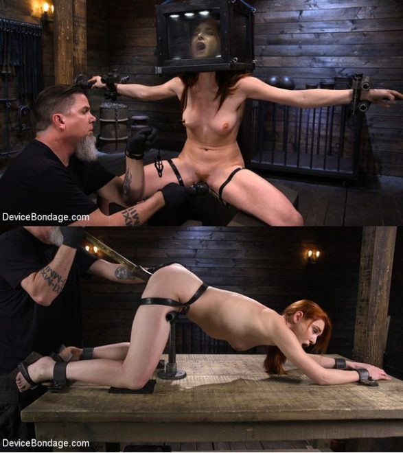 DEVICE BONDAGE: February 20, 2020 – Lacy Lennon/Lacy Lennon: Gorgeous Redhead's Sensual Submission