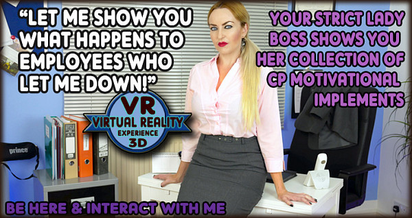 The English Mansion Miss Jessica: Bitchy Boss – VR (4K)