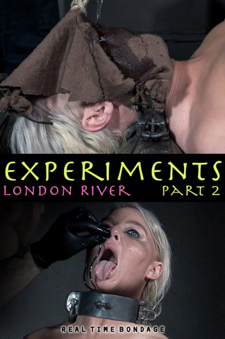REAL TIME BONDAGE: Feb 1, 2020: Experiments 2 | London River/London gets waterboarded and has a tube inserted in her nose.