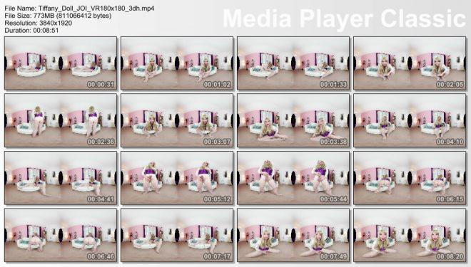 The English Mansion Tiffany Real Doll: Tiffany Doll JOI – VR – 4K (Part 1 of 1)