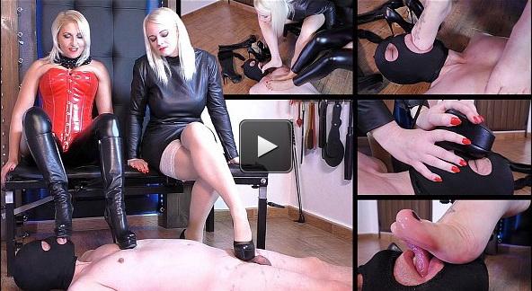 Femme Fatale Films Divine Mistress Heather, Mistress Johanna: Foot Gift (Part 1)