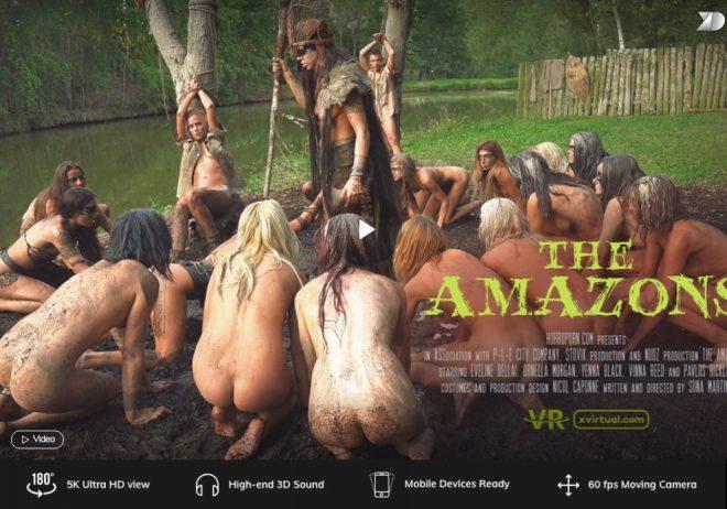 X Virtual/Horror Porn: The Amazons (Virtual Reality) (Virtual 8) – (4K) – VR