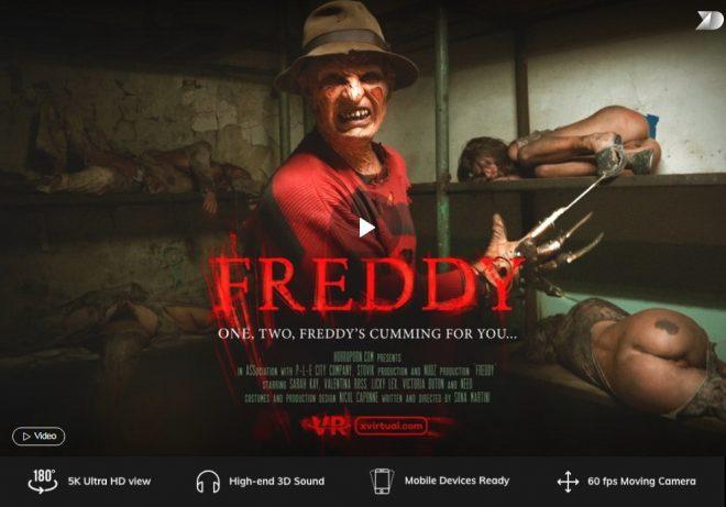 X Virtual/Horror Porn: Freddy in 180° (Virtual 6) – (4K) – VR
