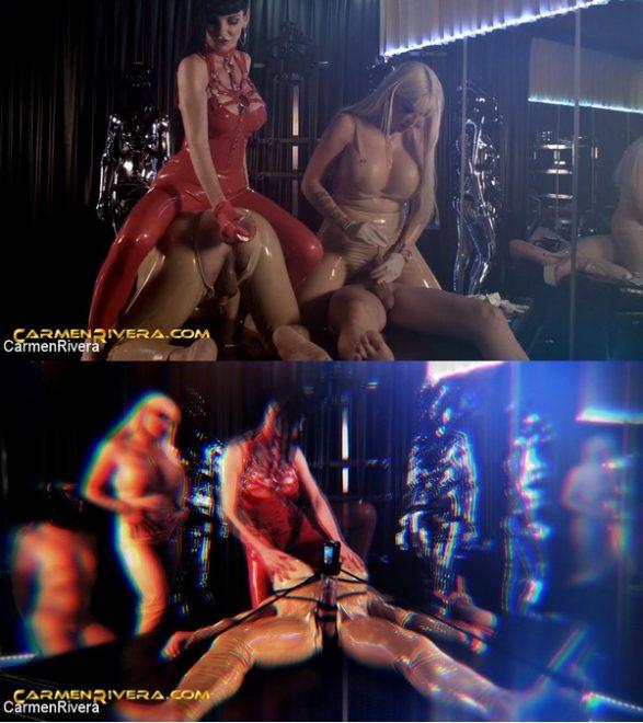 "CARMEN RIVERA: March 6, 2020 – Bimbo Doll Ivana, Carmen Rivera, Colby Jansen, Chris ""Schock"" Cock/Love is in the Ass (Part 2 of 2)"