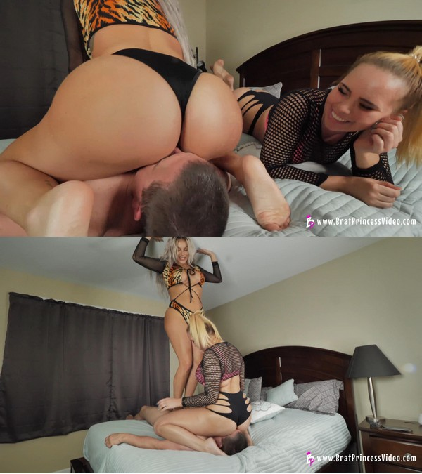 Brat Princess 2: Becky and Natalya – Bubble Butt Smother Attack (1080 HD)