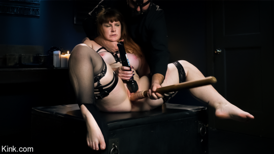 Barbary Rose, Riculf starring in video 'The Sacrifice: Barbary Rose And Riculf' of 'KINKY BITES/KINK' studio