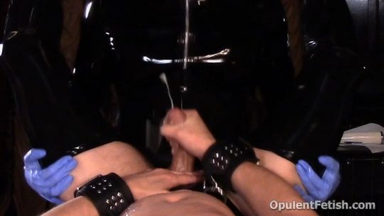 Goddess Cheyenne in video 'Latex Slut Thoroughly' of 'OpulentFetish' studio