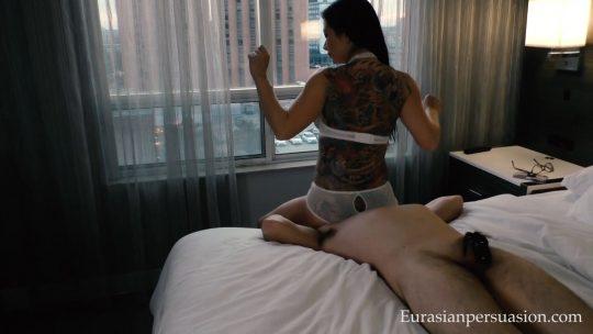 Miss Jasmine starring in video 'My Tinder Victim' of 'EurasianPersuasion' studio