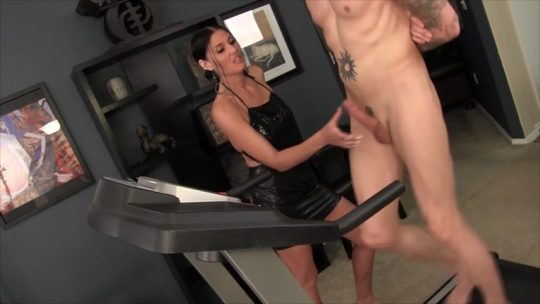 Obey Melanie starring in video 'A well trained dick gets 2 cum'