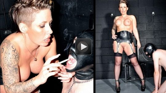 Femme Fatale Films Mistress Jenna: Smoke and Spit – Super HD (Release date: Apr 18, 2021) – human ashtray