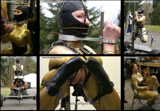 House of Gord Catherine de Sade : Butt Hooked and Machine Fucked Video clips added 08 Jan 2010 (remastered 09 Apr 2021) – Fucking Utility Vehicle