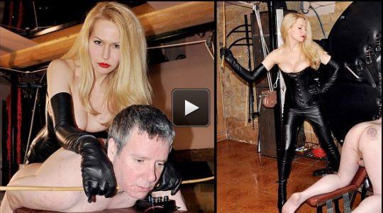 Femme Fatale Films Mistress Eleise de Lacy: Cum to the Cane – Super HD (Release date: Apr 24, 2021) – electified butt plug