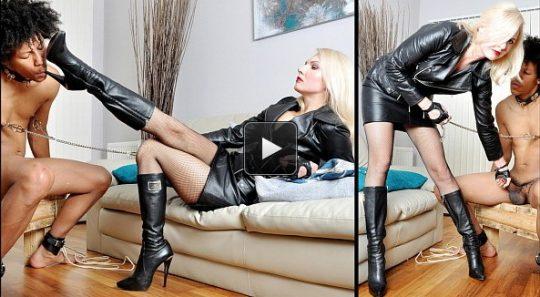 Femme Fatale Films Mistress Akella: Akella's Pain Slave – Super HD – spitting