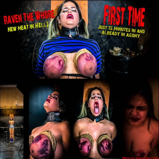 Brutal Master: Raven's First Time in HELL!