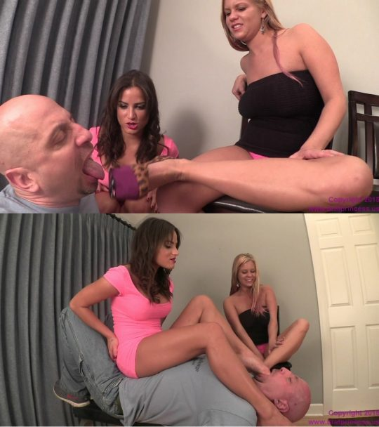 Brat Princess 2: Annabelle and Chichi – Humiliate A Foot Freak (Complete Movie) (720 HD) – FOOT WORSHIP/SHOE & BOOT WORSHIP