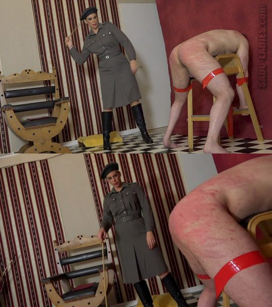 Sado-Ladies: A Judical Caning 2 – Whipping & Caning