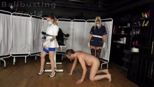 Cruel Nurses: Castration Clinic – Dual Domination