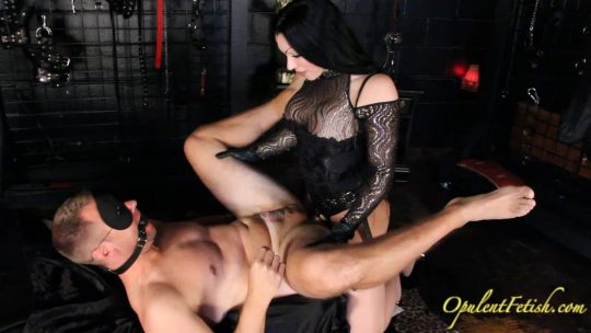 Goddess Cheyenne: Gagged Spanked and Fucked – Watched