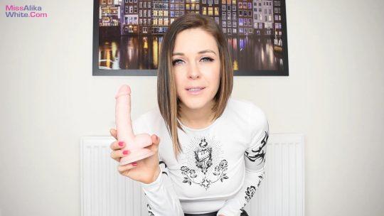 Miss Alika White: Bukkake Bitch Experience – Bi Humiliation
