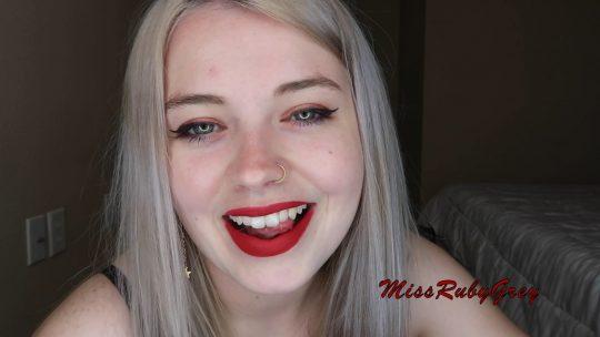 Miss Ruby Grey: CUM DUMPSTER – Sissification