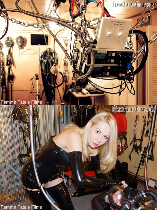Femme Fatale Films: May 6, 2021 – Mistress Eleise De Lacy, Flooze/Drained By The Milking Machine – Big Natural Tits