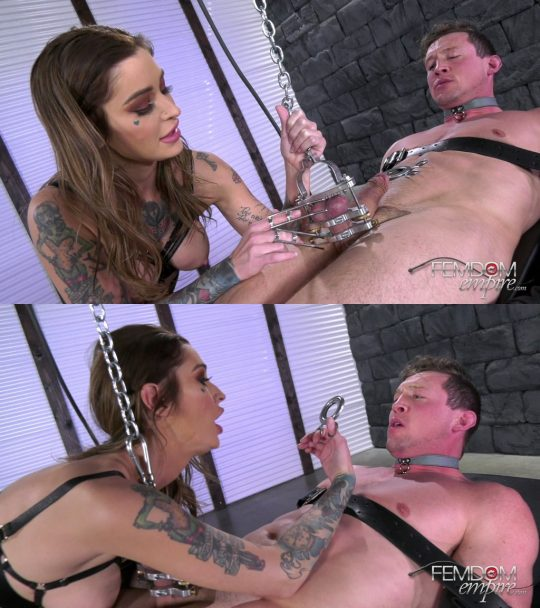 Femdom Empire Kleio Valentein: No More Manhood (Release date: May 09, 2021) – Tease and Denial