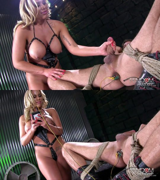 Femdom Empire Olivia Austin: Electro Prostate Release (Release date: May 06, 2021) – PROSTATE MASSAGE