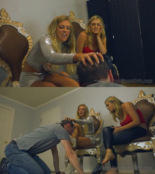 American Mean Girls Princess Ashley & Princess Chanel: Second Chance For EuroTrash – FOOT DOMINATION