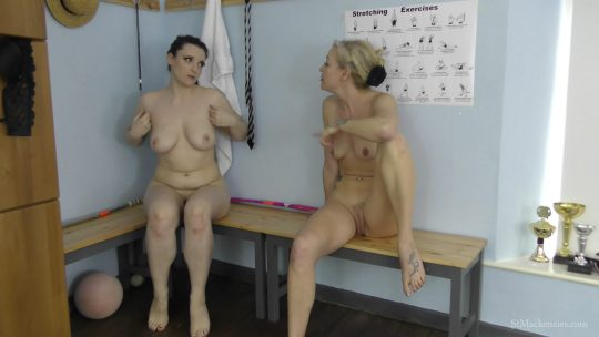St Mackenzie's Ivy Rain, Lucy Brayford: Mean School Girl Ivy Plays A Prank On Fellow Student Lucy Making Her Frantically Strip – ADULT SCHOOL