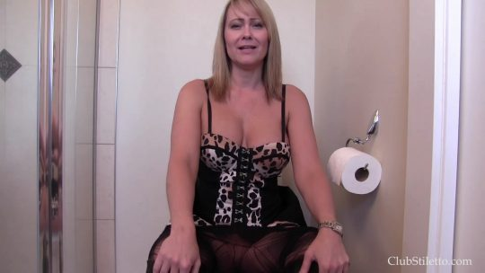 Club Stiletto Mistress Kandy: Eat My Pussy, Sniff My Fart and Drink My Nectar – TOILET SLAVERY
