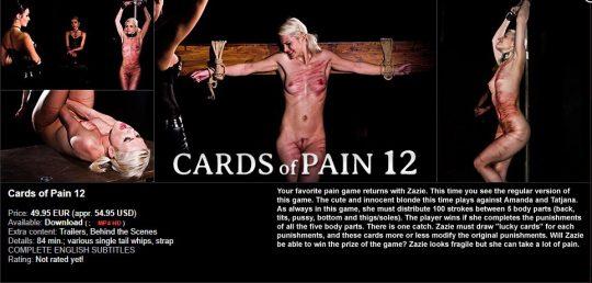 ElitePain: Card of Pain 12