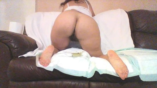 Pee Poop And Wipe On The Couch with goddessemmalove
