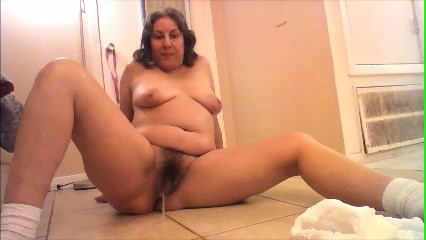 Pee And Poop On The White Tile Floor with goddessemmalove