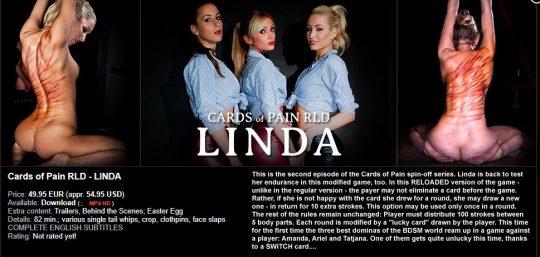 Elite Pain: Cards of Pain RLD – Linda