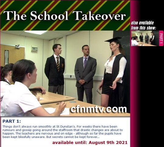 St Dunstan's starring in video 'The School Takeover (Part 1)' of 'cfnmtv' studio