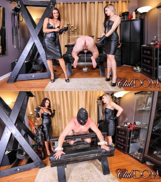 Club Dom Isobel Devi & Michelle Lacy: Isobel & Michelle Caning Perp