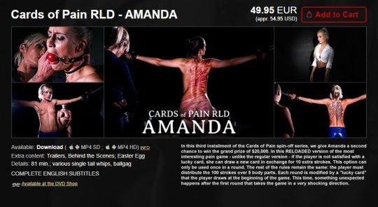 Elite Pain: Cards of Pain RLD – Amanda