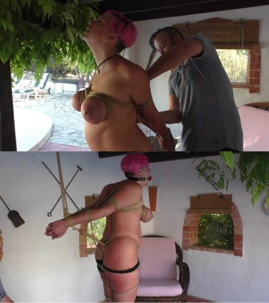 Xtremely Tight: Nova Pink Bound and Gagged