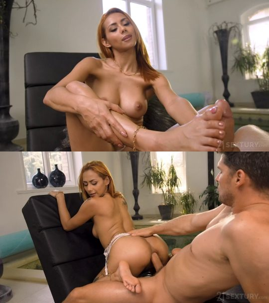 Footsie Babes Veronica Leal, Kristof Cale:  Once A Secretary, Now A Mistress – 19.10.2021